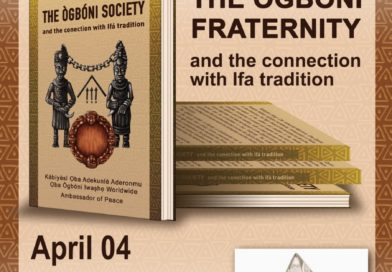 Lançamento Livro The Ògbóni Fraternity Lagos – Nigeria